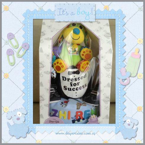 Diaper Cake Baby Gift for Zhi Ren