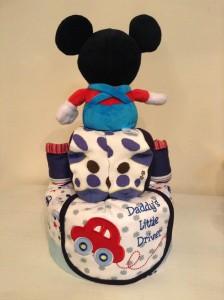Mickey Nolen Baby Boy Diaper Cake 3