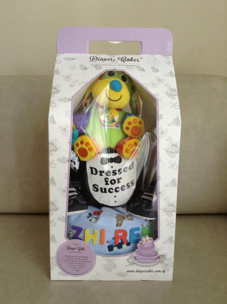 Shi Ren Customized Diaper Cake Baby Gift