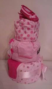 Diaper Cake Baby Girl Astrid 2