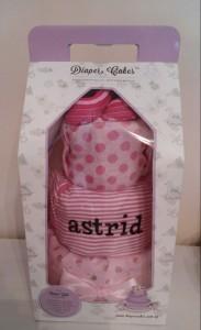 Diaper Cake Baby Girl Astrid 4