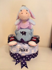 Jake Baby Boy Diaper Cake 2
