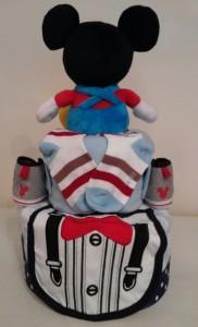 Mickey Baby Boy Elliot Diaper Cake 2