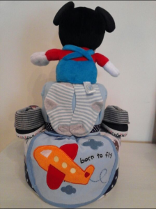 Mickey Diaper Cake Baby Boy Christian 2