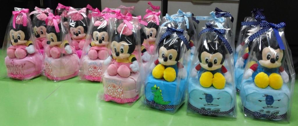 Noel Gifts Mini Diaper Cakes 4