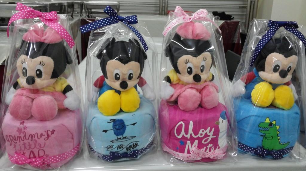Noel Gifts Mini Diaper Cakes 6