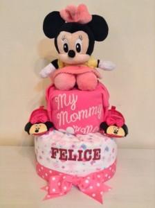 Baby Girl Diaper Cake Felice 1