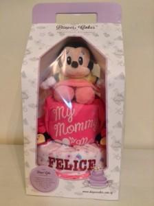 Baby Girl Diaper Cake Felice 3