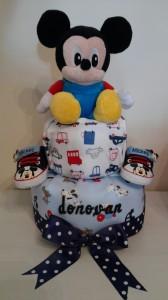 Donovan Diaper Cake Baby Boy 1