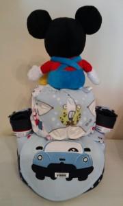 Donovan Diaper Cake Baby Boy 2