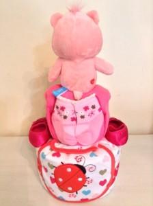 Care Bear Diaper Cake Unique Baby Gift Singapore 4