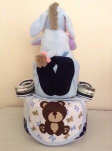 Diaper Cake Baby Gift Boy Freddie 2