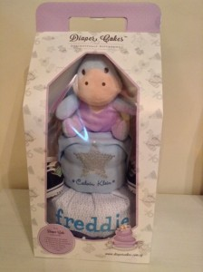 Diaper Cake Baby Gift Boy Freddie 3