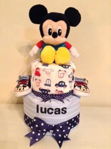 Diaper Cake Baby Gift Boy Lucas 1