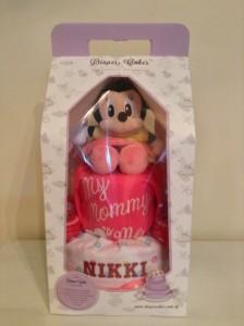 Diaper Cake Baby Gift Girl Nikki 3