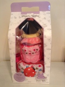 Minnie Mouse Baby Girl 2 Tier Diaper Cake 4