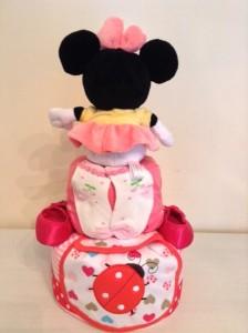 Zahrah Baby Girl Minnie Mouse Diaper Cake 2