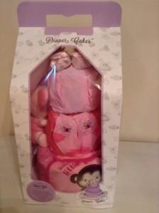 3 Tier Diaper Cake Baby Gift Hamper Angelina 4