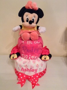 Baby Gift Ashley Diaper Cake Minnie Mouse 1