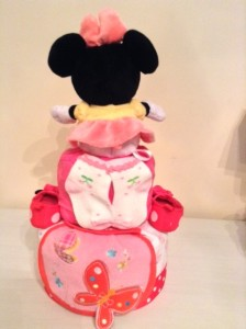 Baby Gift Ashley Diaper Cake Minnie Mouse 2