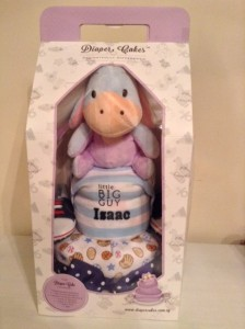 Eeyore Diaper Cake Creative Baby Gift Isaac 3