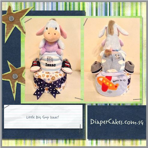 Eeyore Diaper Cake Creative Baby Gift Isaac 4