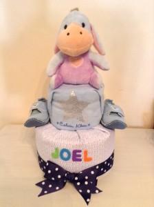 Eeyore Diaper Cake Creative Baby Gift Joel 1