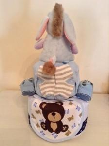 Eeyore Diaper Cake Creative Baby Gift Joel 2