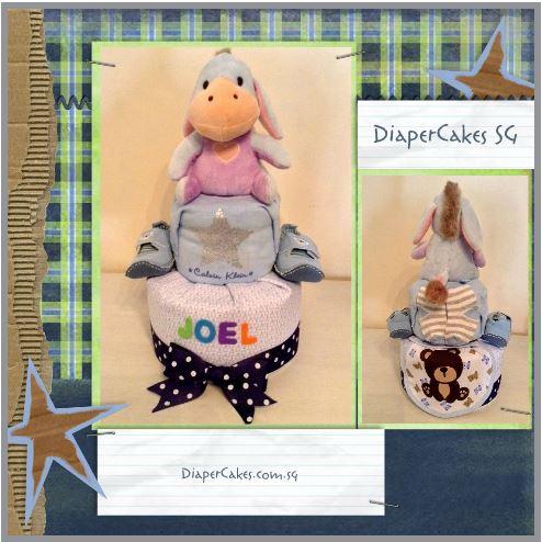 Eeyore Diaper Cake Creative Baby Gift Joel 3