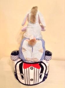 Eeyore Ladies Man Baby Boy Diaper Cake Baby Gift 2