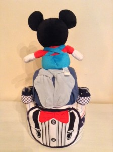 Mickey Mouse Baby Boy Diaper Cake Unique Baby Gift 4
