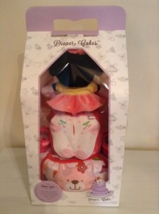Minnie Mouse Baby Girl Diaper Cake Unique Baby Gift 2