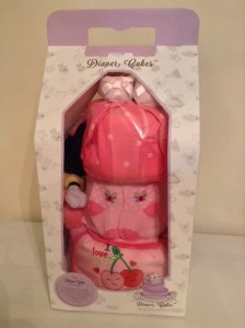 Minnie Mouse Joey 3 Tier Diaper Cake Baby Gift 4