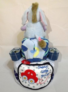 2-Tier- Eeyore-Diaper Cake-Baby Gifts Singapore- Boy 2