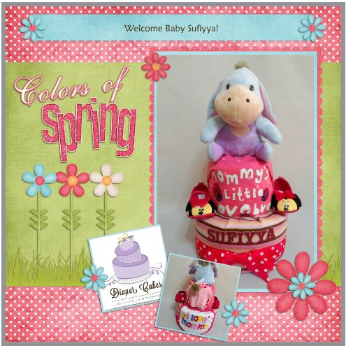 2-Tier-Diaper-Cake-Singapore-Baby-Gift-Hamper-Blue-Eeyore-Baby-Girl-Sufiyya-3
