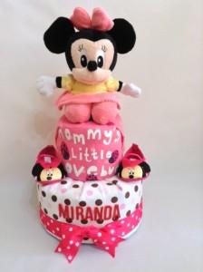 2-Tier-Diaper-Cake-Singapore-Baby-Gift-Hamper-Pink-Minnie-Mouse-Baby-Girl-Miranda-1