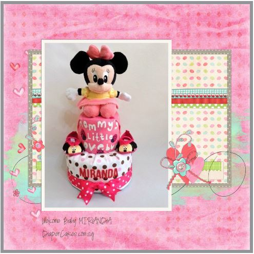 2-Tier-Diaper-Cake-Singapore-Baby-Gift-Hamper-Pink-Minnie-Mouse-Baby-Girl-Miranda-3