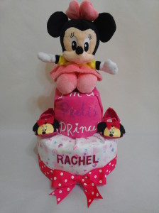 2-Tier-Diaper-Cake-Singapore-Baby-Gift-Hamper-Pink-Minnie-Mouse-Baby-Girl-Rachel-1