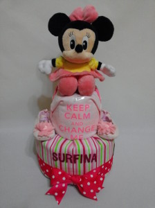 2-Tier-Diaper-Cake-Singapore-Baby-Gift-Hamper-Pink-Minnie-Mouse-Baby-Girl-Surfina-1