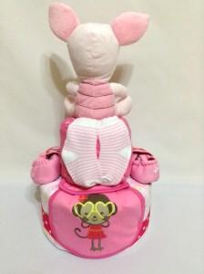 2-Tier-Diaper-Cake-Singapore-Baby-Gift-Hamper-Pink-Piglet-Baby-Girl-2