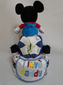 2 Tier -DiaperCakesSingapore-BabyGifts-MickeyMouse-Boy 2