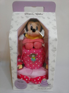 2 Tier -DiaperCakesSingapore-BabyGifts-MinnieMouse-Girl 3