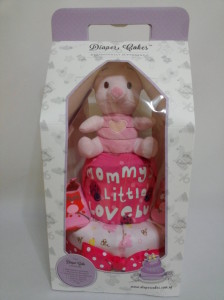 2 Tier -DiaperCakesSingapore-BabyGifts-Piglet-Girl 3