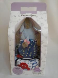 2-Tier- Eeyore-Diaper Cake-Baby Gifts Singapore- Boy-Elliot-4