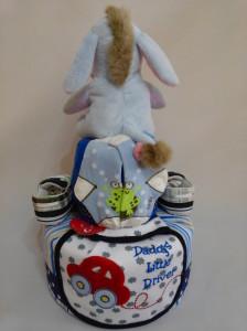 2-Tier- Eeyore-Diaper Cake-Baby Gifts Singapore- Boy-Lyam-2