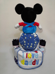 2-Tier- MickeyMouse-Diaper Cake-Baby Gifts Singapore- Boy 2