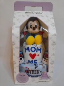 2-Tier- MickeyMouse-Diaper Cake-Baby Gifts Singapore- Boy 3