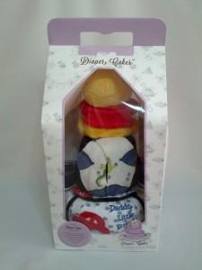 2-Tier- Winnie-The-Pooh-Diaper Cake-Baby Gifts Singapore- Boy-Rayyan-4