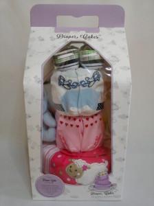 3-Tier-Blue-Eeyore-Diaper Cake-Baby Gifts Singapore- Boy-Twins-4