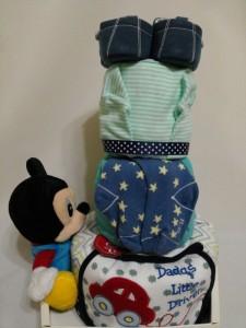 3 Tier -DiaperCakesSingapore-BabyGifts-MickeyMouse-Boy-Ilyas-2